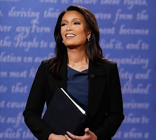 At age 42, Elaine Quijano is the youngest journalist to moderate a debate on the national stage since Judy Woodruff in 1988.