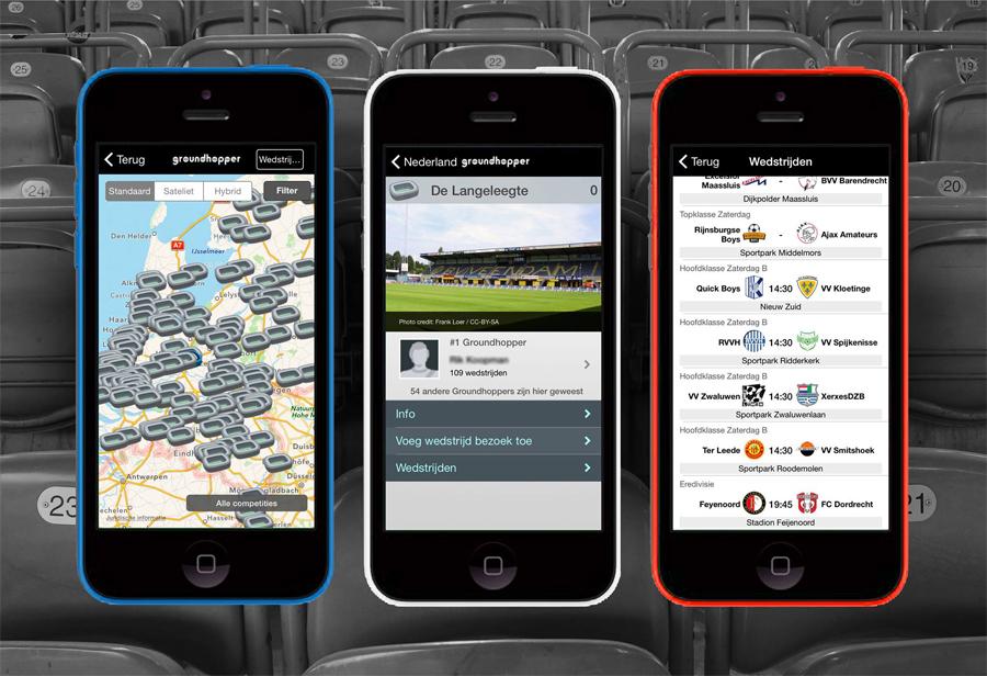 groundhopper app mobile