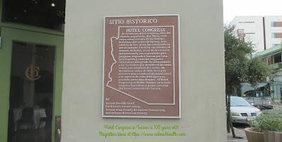 Plaque Hotel Congress