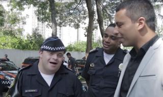 Jovem com Síndrome de Down vira Guarda Civil de Osasco por um dia em Osasco; veja vídeo