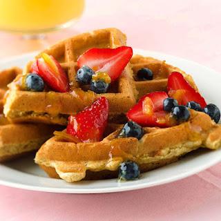 Multigrain Citrus Waffles