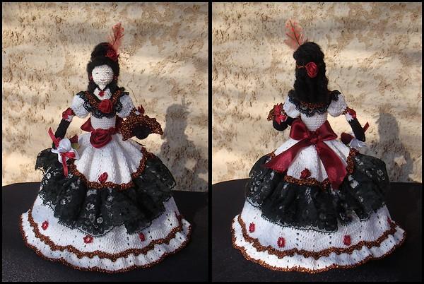 Poupée robe de bal