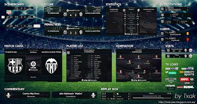 PES 2018 La Liga Scoreboard v4 by Txak