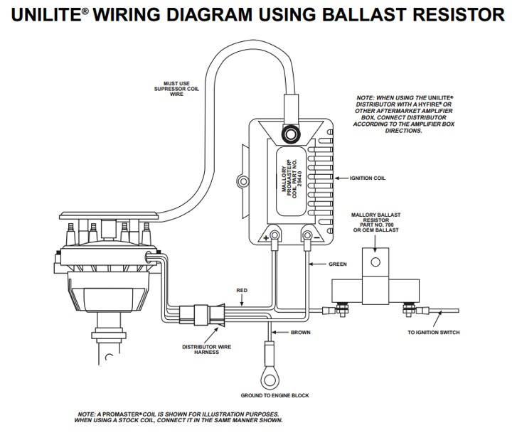 mallory ignition wiring diagram ford iv mallory ignition wiring diagram