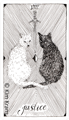 The Wild Unknown Tarot, Justice, Kim K