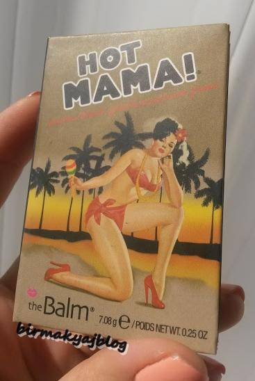 The Balm Dosyası 5 # The Balm - Hot Mama Allık
