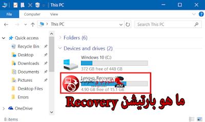 ما هو بارتيشن Recovery في الهارد وما وظيفته| كيفية عملRecovery للبعض الحاسوب