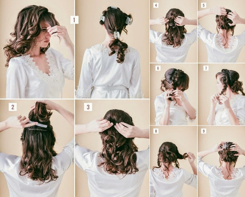 Hair Tutorial: Loose Braided Updo - DIY Craft Projects