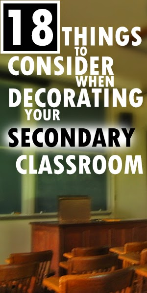 Mrs. Orman's Classroom: Decorating Your Secondary ...