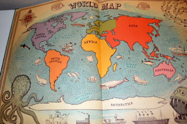 World Map, Map Books