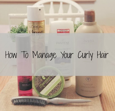 how to manage your curly hair