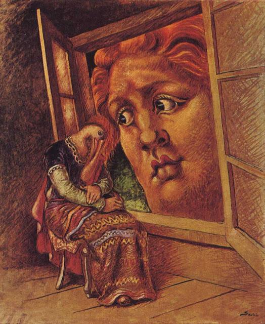 Alberto Savinio, L'annunciazione