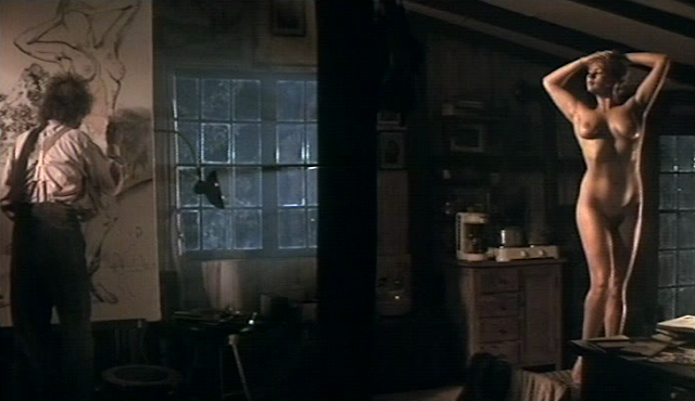 Martha (Veronica Ferres) als Nacktmodell für ein angebliches Hitler-Gemälde