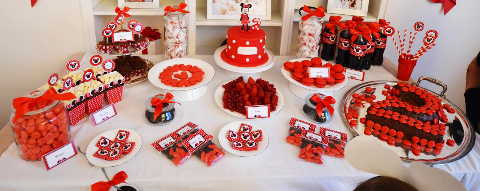 Sweet table theme Minnie