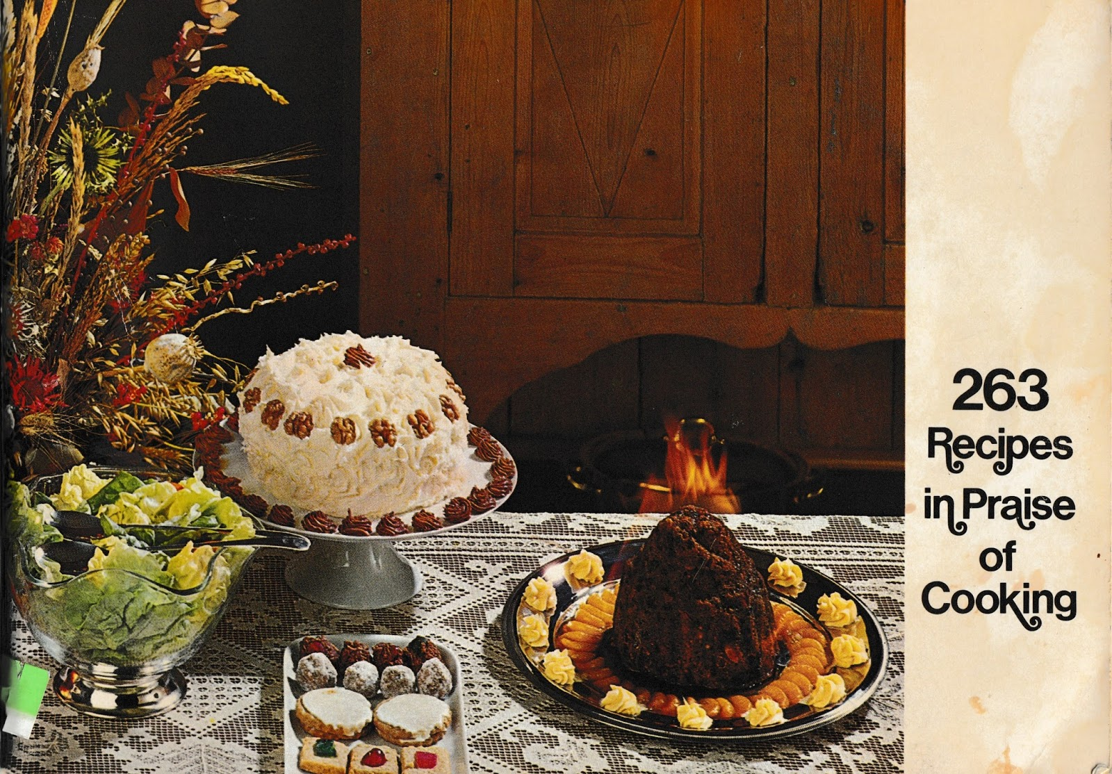 The left chapter 263 recipes in praise of cooking w cottage cheese 263 recipes in praise of cooking w cottage cheese pizza chicken kiev cream of tuna soup more vintage cookbook tbt forumfinder Gallery