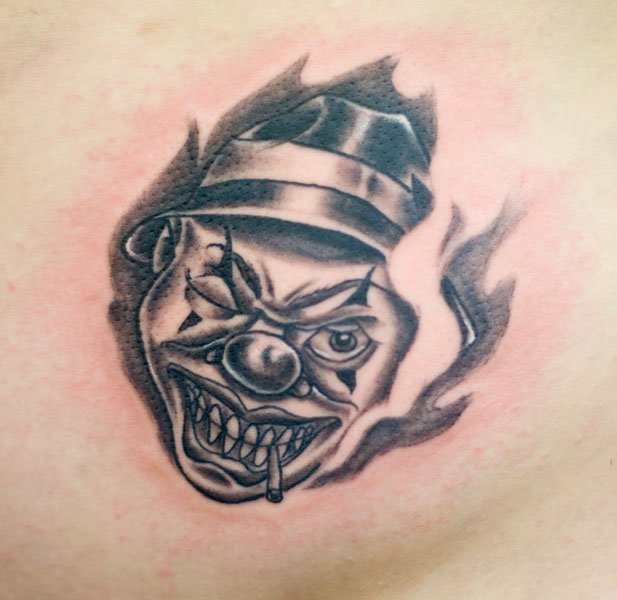 Tattooz Designs: Tattoo Designs Of Clowns
