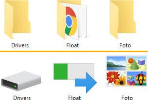 Merubah tampilan gambar folder di windows 10