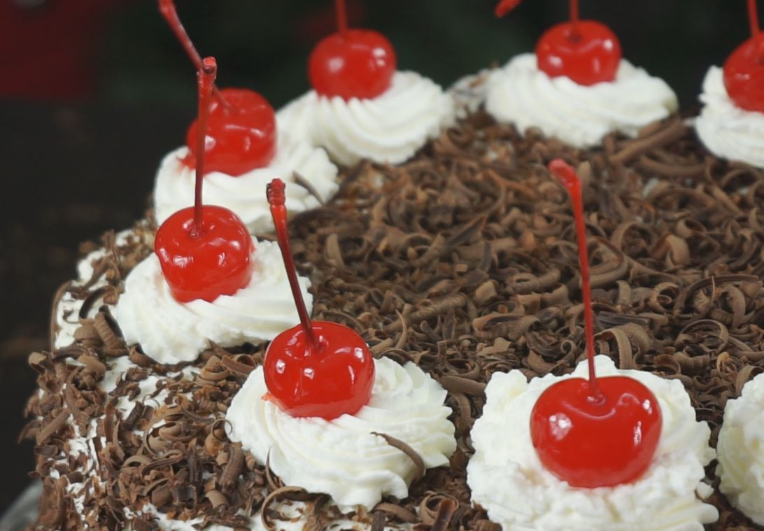 Ingredients For A Black Forest Cake