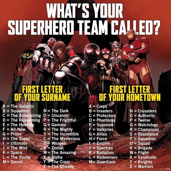 Heropress Need A Name For Your Super Team