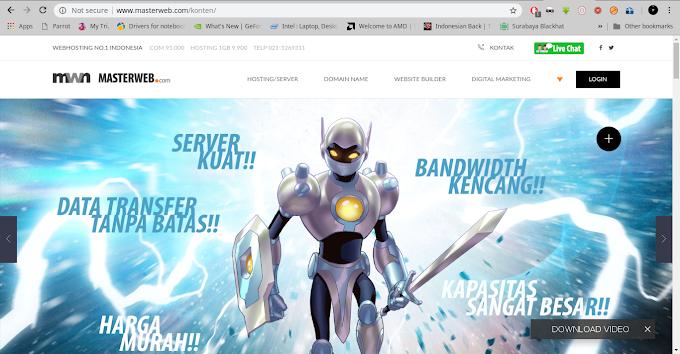Cara Mudah Setting Domain ke Blogspot di Masterweb.com Terbaru 2018