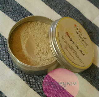 Burst of Happyness clay-o-patra Detoxifying Clay Mask Review
