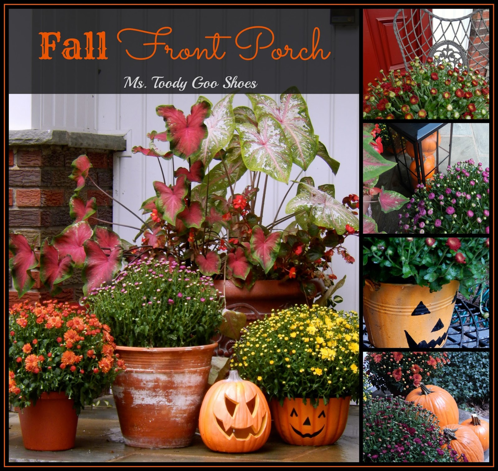 Fall Front Porch (Ms. Toody Goo Shoes)