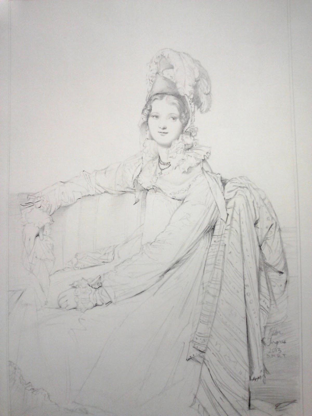 Drawings Old Master Copies Ingres