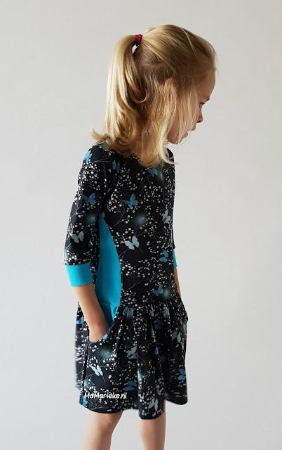 Foras jurk Sofilantjes gerimpelde rok