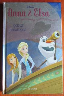 Takie książki - Taka Troche o Erica David - Anna i Elsa. Gorące powitanie (Siostrzana więź to najprawdziwsza magia)