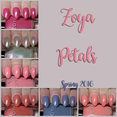 zoya petals swatches review