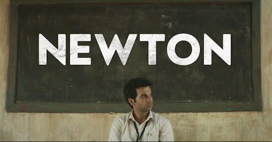 ''Newton'' is india's official entry for oscars 2018