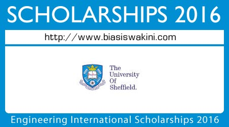 Engineering International Scholarships 2016