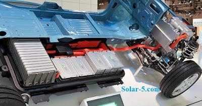 Solarauto Batterien ReVision Energie Solarfahrzeug