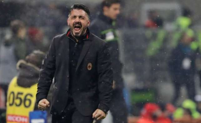 Gennaro Gattuso Slaps Youngster Gabriele Bellodi For Posing With A Barcelona Jersey (Photos, Video)