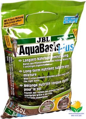 Cốt nền thủy sinh JBL Aquabasic Plus 2.5L