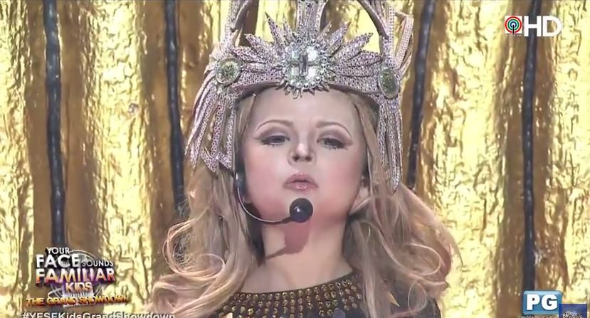 Xia Vigor's performance as Madonna melts judges' hearts