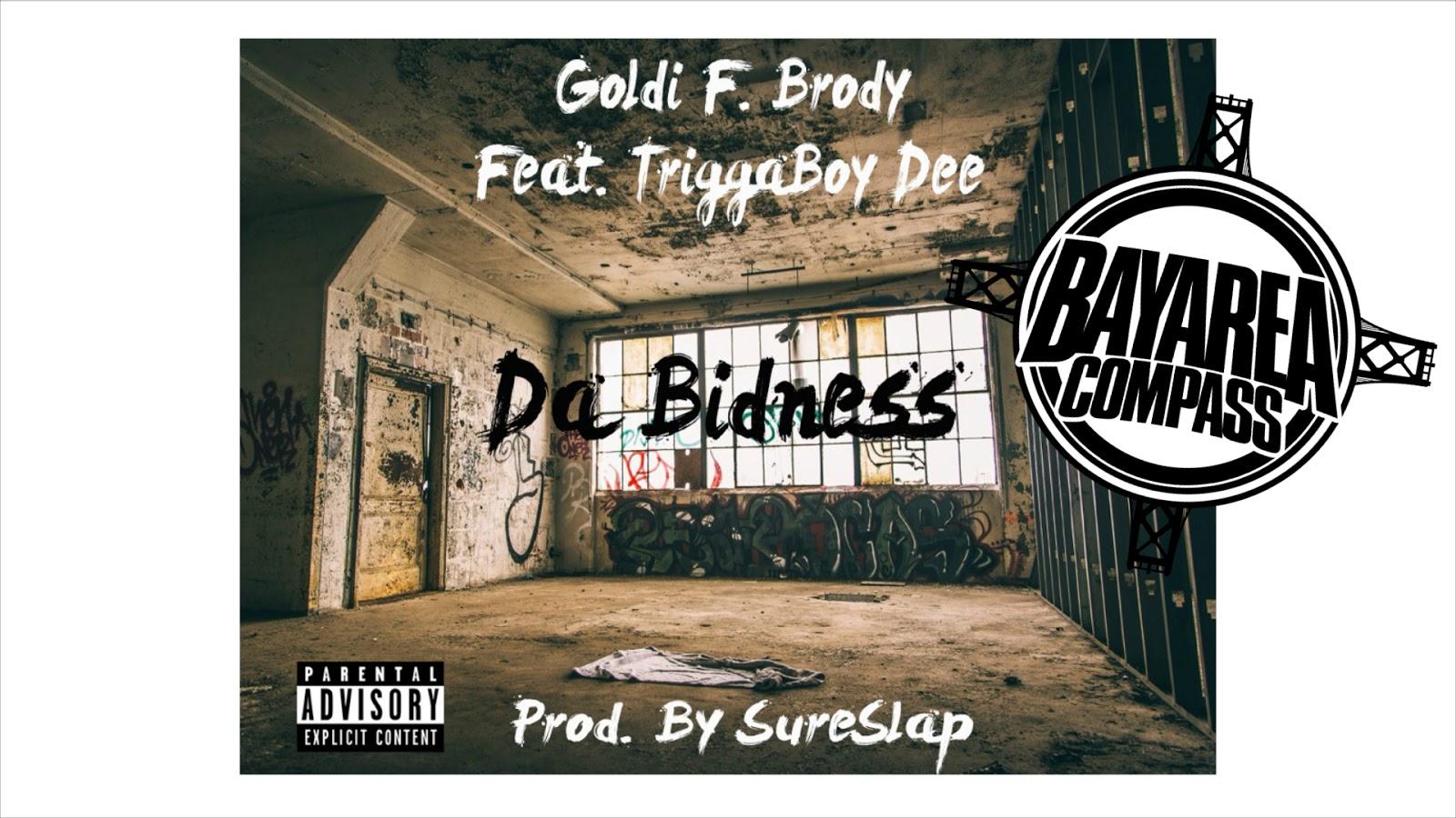 cbfd49b4d26 New Music  Da Bidness by Goldi F. Brody ft. TriggaBoy Dee (Prod. By  SureSlap)  TrapCityGOLDI