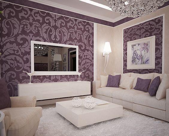 Inspirational Purple Apartment Interior Designs Ready to ...