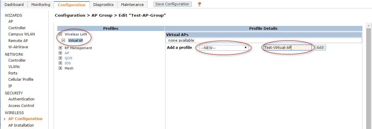 TechOn9 - Technical Online: Aruba Controller Setup Guide