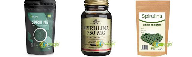 Spirulina organica vegis