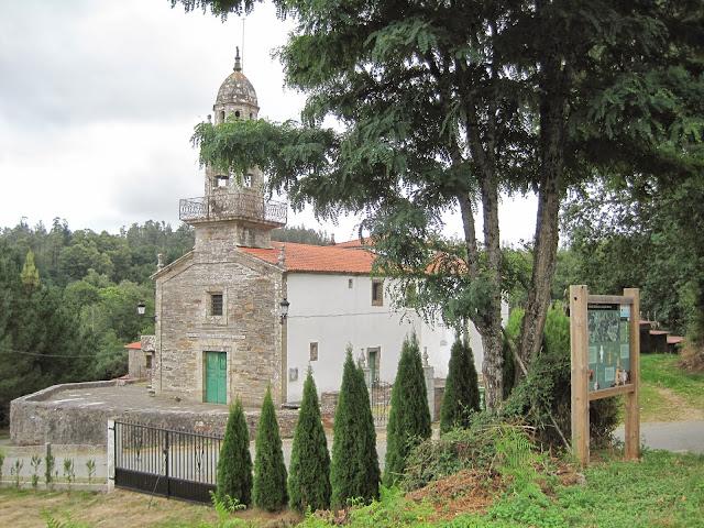 Iglesia de Gonzar en O Pino