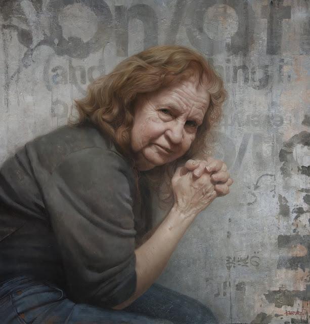 David Kassan, portrait of the artist's mother, 2010:
