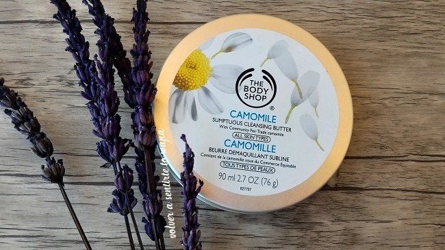Manteca Limpiadora & Desmaquillante Camomila de The Body Shop