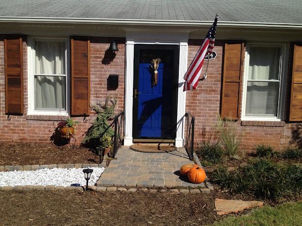 Brick House With Cedar Shutters