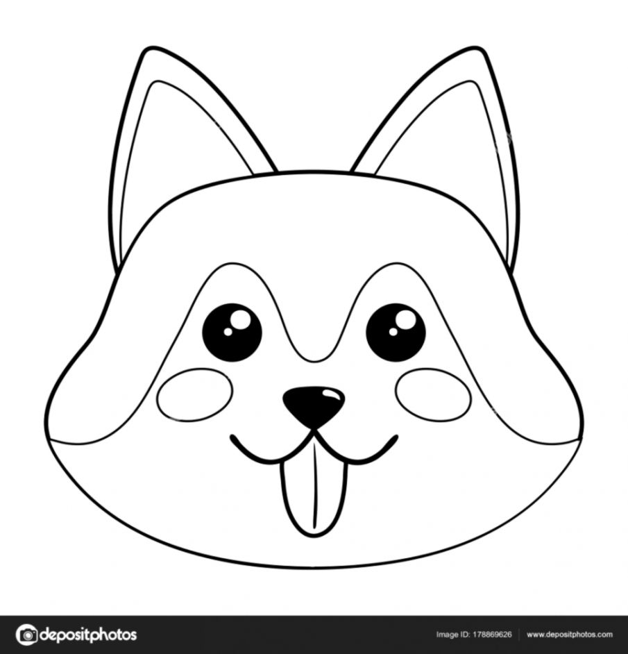 cute dog face drawing wallpapers engine Funny Animals cute dog face vector illustration stock vector ail