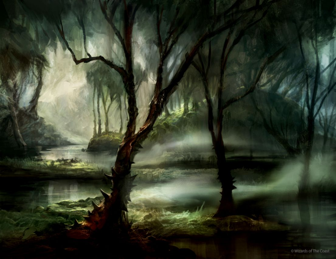 Magic The Gathering Swamp Wallpaper   Wallpapers Every Day