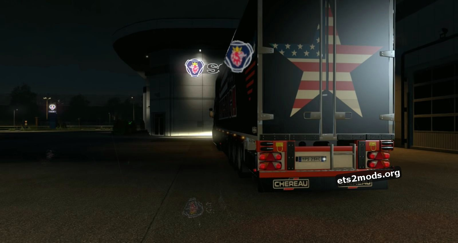 Combo America Skin (Scania T + Chereau V3)