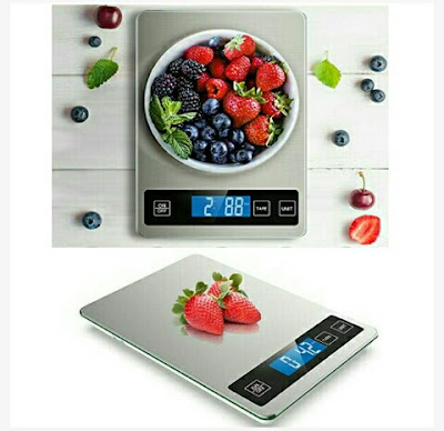 Nicewell Digital Scale for Weighing Food Items - Cooking Recipes, Fruits and Vegetables