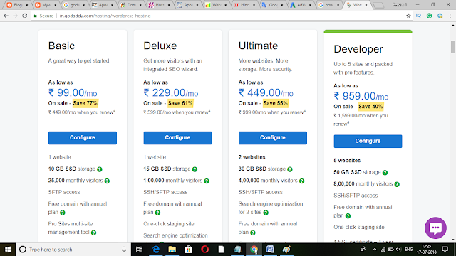 How To Buy Web Hosting In Godaddy Just 5 Minit