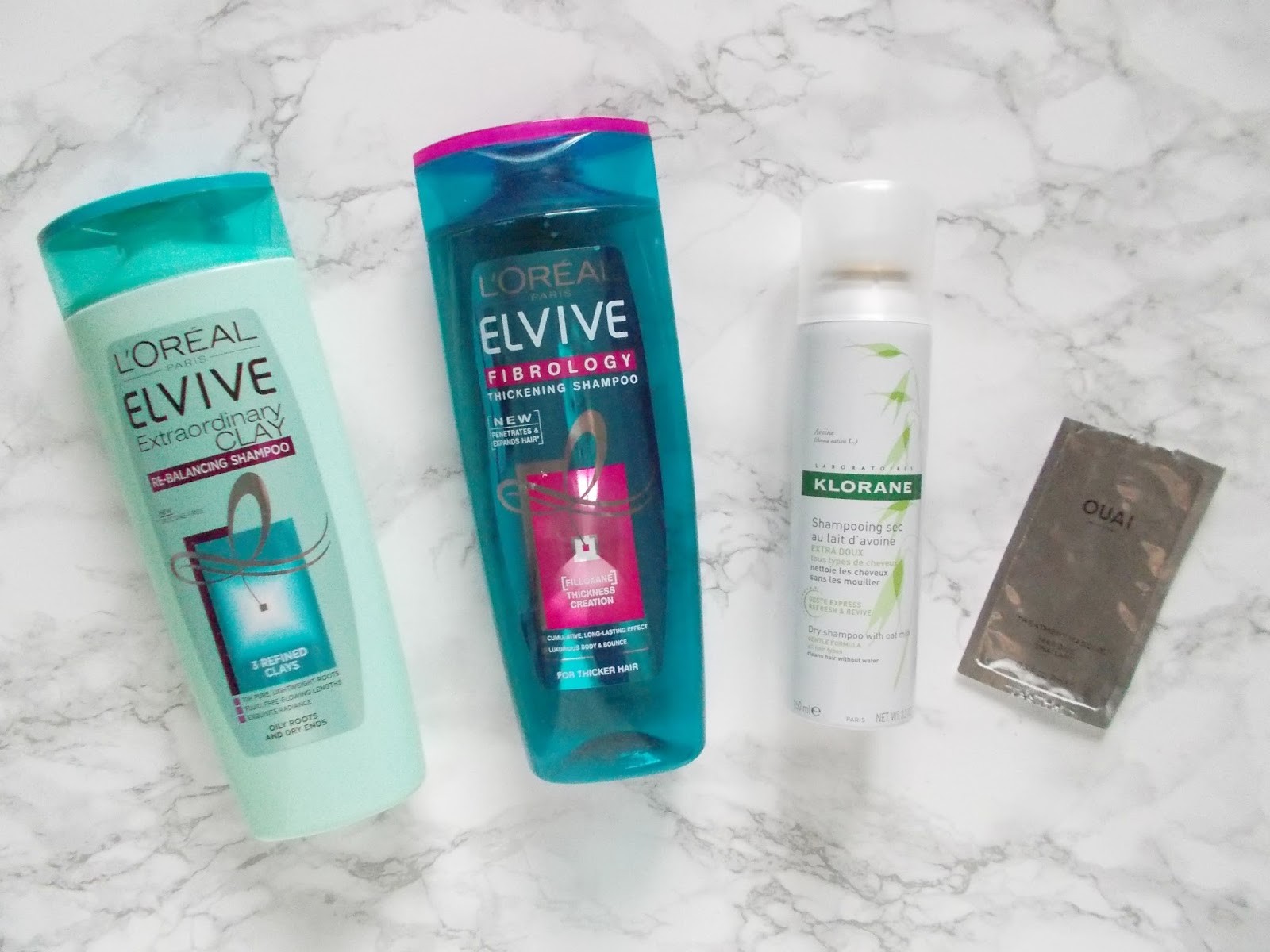 loreal klorane ouai shampoo review
